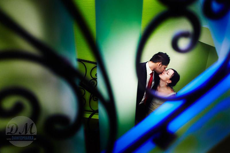 Plener ślubny w restauracji - Bulowice