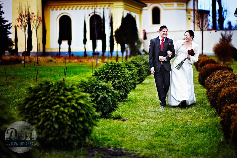Klasztor Franciszkanów w Kętach - zdjęcia ślubne