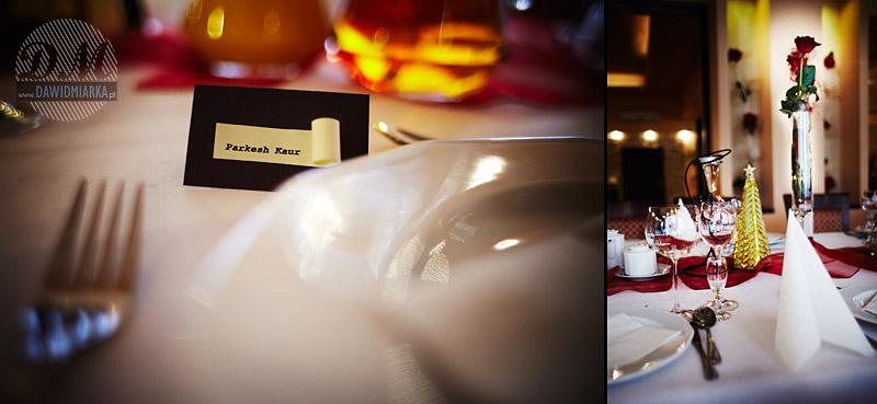 Sala weselna w hotelu Relax w Kętach