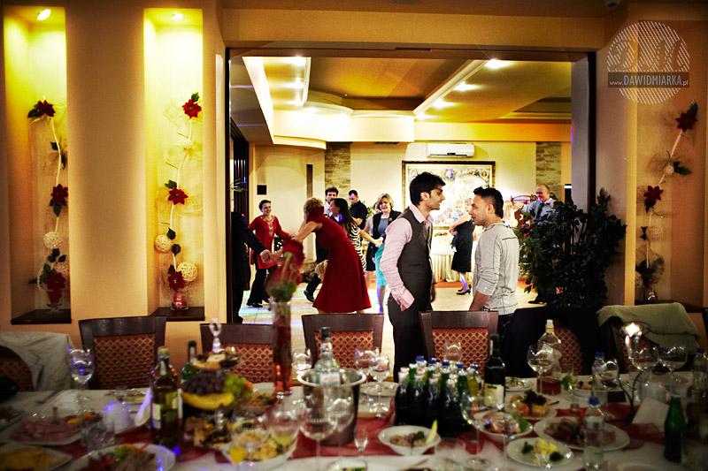Fotografia ślubna w Kętach w Hotelu Relax