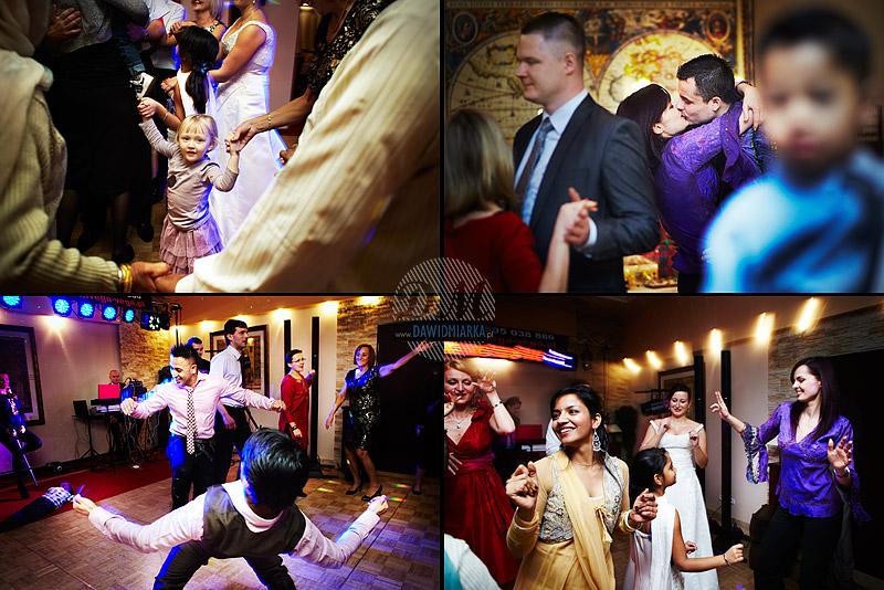 Zdjęcia z wesela gości tańczących